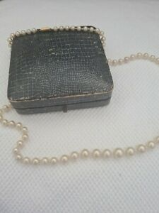 Vintage Ciro Faux Pearls with 9ct Gold Clasp