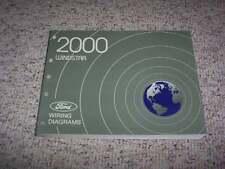 2000 Ford Windstar Electrical Wiring Diagram Manual LX SE SEL Limited V6 3.0L