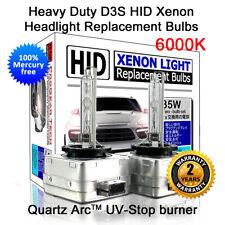 6000K Heavy Duty D3S Audi Mercedes-Benz Volvo Volkswagen OEM HID Headlight Bulbs