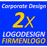 2x Logo Vorschläge Layout Existenzgründung Firma Firmenlogo Corporate Design