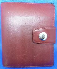VINTAGE ANCIEN Porte Monnaie Wallet Geldbörse LAMARTHE Made Italy Cuir Leather