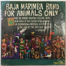 Baja Marimba Band - For Animals Only - EX Vinyl LP - Herb Alpert