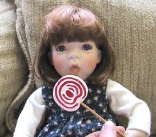 "Linda Steele Doll Holding a Lollipop 1993 261/1500 (16"")"