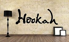 Wall Vinyl Sticker Decal Focus Room Decor Interior Hookah Bar Bong Kalian VY474