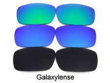 Galaxy Lentes De Repuesto Para Oakley Chainlink negro / Azul / VERDE POLARIZADOS