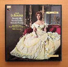 SLS 960 Verdi La Traviata Beverly Sills Nicolai Gedda 3xLP EX/EX (no insert)