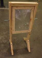 SOLAR FRESNEL LENS Science test kit for demonstrations complete with stand