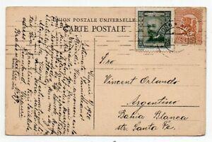 1920 FINLAND TO ARGENTINA COVER, SCARCE ESPERANTO CINDERELLA, RARITY