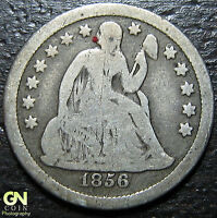 1856 P Seated Liberty Dime  --  MAKE US AN OFFER!  #Y4810