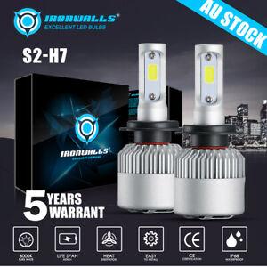 For Holden VE SS SV6 HSV COMMODORE H7 Low Beam 6500k LED Headlight Bulb vs Xenon