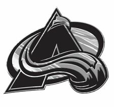 Colorado Avalanche Silver Auto Emblem [NEW] Car Truck NHL Sticker Decal