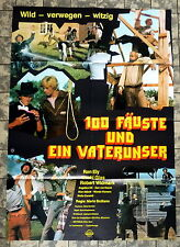 RON ELY *Alleluja e Sartana figli di... Dio - A1-Filmposter EA -Ger 1-Sheet 1972