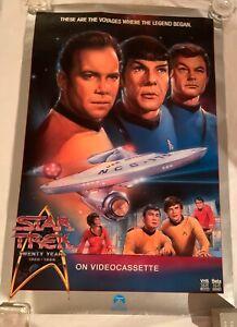 Star Trek Twenty Year Anniversary Poster by Paramount Pictures (1986) [27x40]