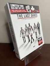The Last Dance Gift Set Lot (Blu-ray+Gallery Book, Bulls, Michael Jordan) Sealed