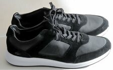 Lacoste Men's Joggeur 116 Fashion Black Leather / Suede Shoes Sz 12 NIB