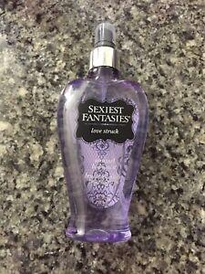 SEXIEST FANTASIES Body Mist Spray, Love Struck Fragrance, 7.35 FL OZ