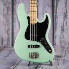 Fender 0198612357 American Performer Jazz Bass Guitar Satin Seafoam Green