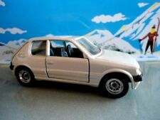 PEUGEOT 205 GTI HI-FI SOLIDO METAL MADE IN FRANCE 1/43 BLANC NACRÉ
