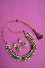 Designer Indian Bollywood Gold Tone Ethnic Fashion Pearl Kundan Jewelry Set