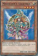 3X YU-GI-OH CARD: MAGICIAN'S VALKYRIA - LDK2-ENY17 - 1st EDITION