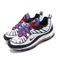 Nike Air Max 98 Raptors White Black Purple Red Men Shoes Sneakers 640744-110