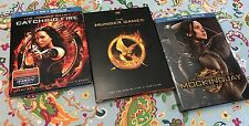 The Hunger Games Catching Fire Mocking Jay Set Blu-Ray +DVD +Digital HD 8 Discs