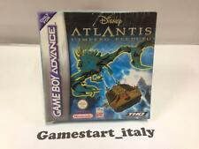 DISNEY ATLANTIS L'IMPERO PERDUTO (NINTENDO GAME BOY ADVANCE GBA) NEW PAL VERSION