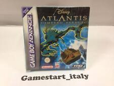 DISNEY ATLANTIS L'IMPERO PERDUTO (NINTENDO GAME BOY ADVANCE GBA) NEW PAL VERSION