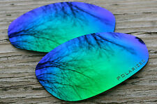 Green Blue Polarized Lenses for Oakley Straight Jacket - 1st Version from 1999