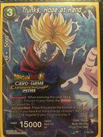 P-064 PR Foil Trunks, Hope At Hand Promo Rare Dragon Ball Super Card Mint