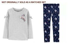 Carters/OshKosh Toddler Girls Unicorn Top and Navy...