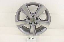 "USED OEM ALLOY WHEEL 17"" ILX 13 14 15  MACHINED SILVER NICE minor marks"