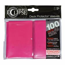 Ultra Pro PRO-Matte ECLIPSE Sleeves x 100 - Matte - Hot Pink