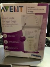 Philips Avent Breast Milk Storage Bags Clear 6 Ounce 40 bags