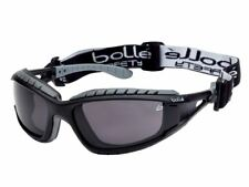 Bolle Tracker Safety Glasses Spectacles Vented Smoke Lens TRACPSF