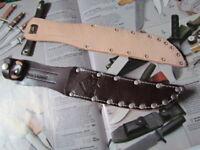 PUMA MESSERSCHEIDE für Solingen Puma Fahrtenmesser mit Klingenlänge 14 cm.