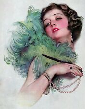 ART DECO. Pictorial Review Front page , Printed on quality A 4 size photo paper.