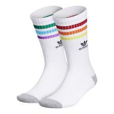 adidas Originals Pride Rainbow Roller Crew Socks Gay Pride 2020 OSFA