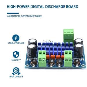 120W*2 TPA3116D2 High Power Digital Power Amplifier Board 8-28V Audio Amp Module