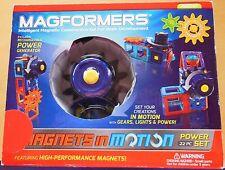 Magformers Intelligent Magnetic Construction Set - 22 Piece Power Set