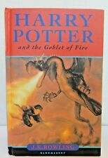 Harry Potter and the Goblet of Fire 1st U.K. Edition With Errors (OMNIA) Print