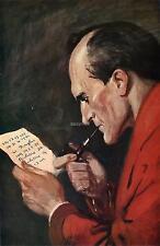 Sherlock HOLMES AVVENTURE CON 7 x 4 pollici stampa TUBO FUMO
