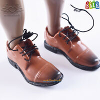 """1/6 VH Male Fashion Shoes A Yellow Brown Model For 12""""Phicen Body Action Figure"""