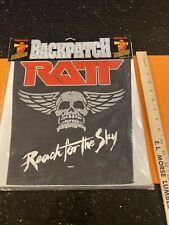 Ratt Xl Back Patch Pearcy