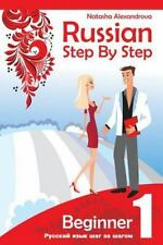 Russian Step by Step Beginner Level 1: with Audio Direct Download, Alexandrova,