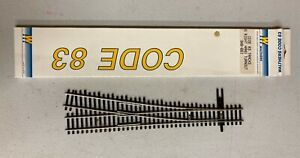 Walthers Train Track Code 83 #5 Right Hand Turn-Out 948-892 NIP