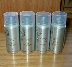 KENRA PLATINUM DRY TEXTURE HAIR SPRAY #6 4 x 1.5 fl.oz 42.5g each total 6 fl.oz