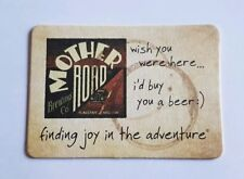 Mother Road Brewing Co: Postcard  Beer Coaster Flagstaff Ariz. $5.95 ea 6avail.