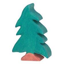 NUOVO in legno Holztiger piccolo albero di conifera albero di legno Giocattolo Animale HT80221 per bambini