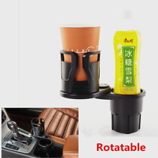 1Pcs ABS+Rubber Car Cup Holder Rotatable Cell Phone Sunglasses Stand Accessories